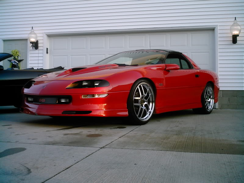 the world 39 s best 4th gen camaros 97 red camaro ss lt1 on 20s. Black Bedroom Furniture Sets. Home Design Ideas