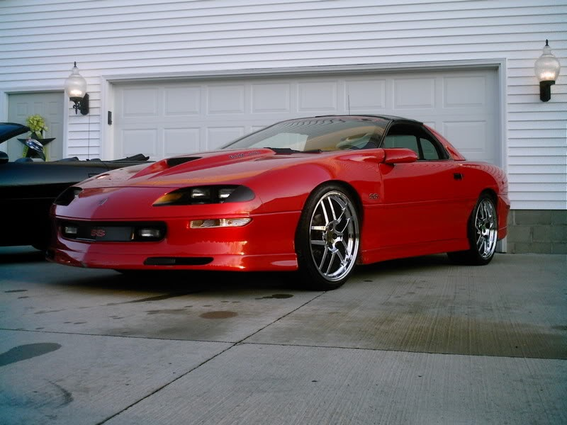 The World S Best 4th Gen Camaros 97 Red Camaro Ss Lt1 On 20s