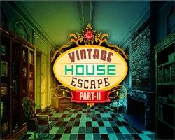 Juegos de Escape Vintage House Escape 2