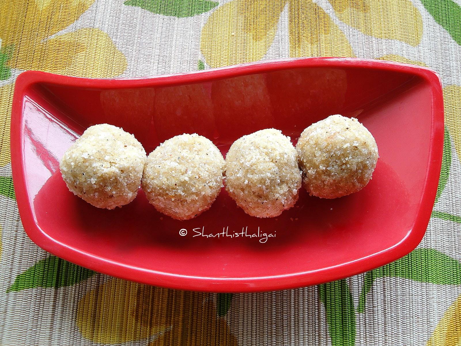 How to make coconut ladoo, coconut ladoo recipe, Coconut ladoo with condensed milk