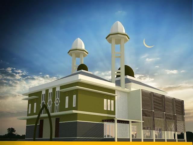 Pembangunan Masjid Quwwatul Islam Perumnas Condong Catur Depok Sleman Yogyakarta
