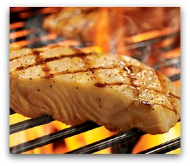 grilledfish for fat reducing