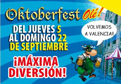 OKTOBERFEST OLE  VALENCIA- OCTUBRE 2013