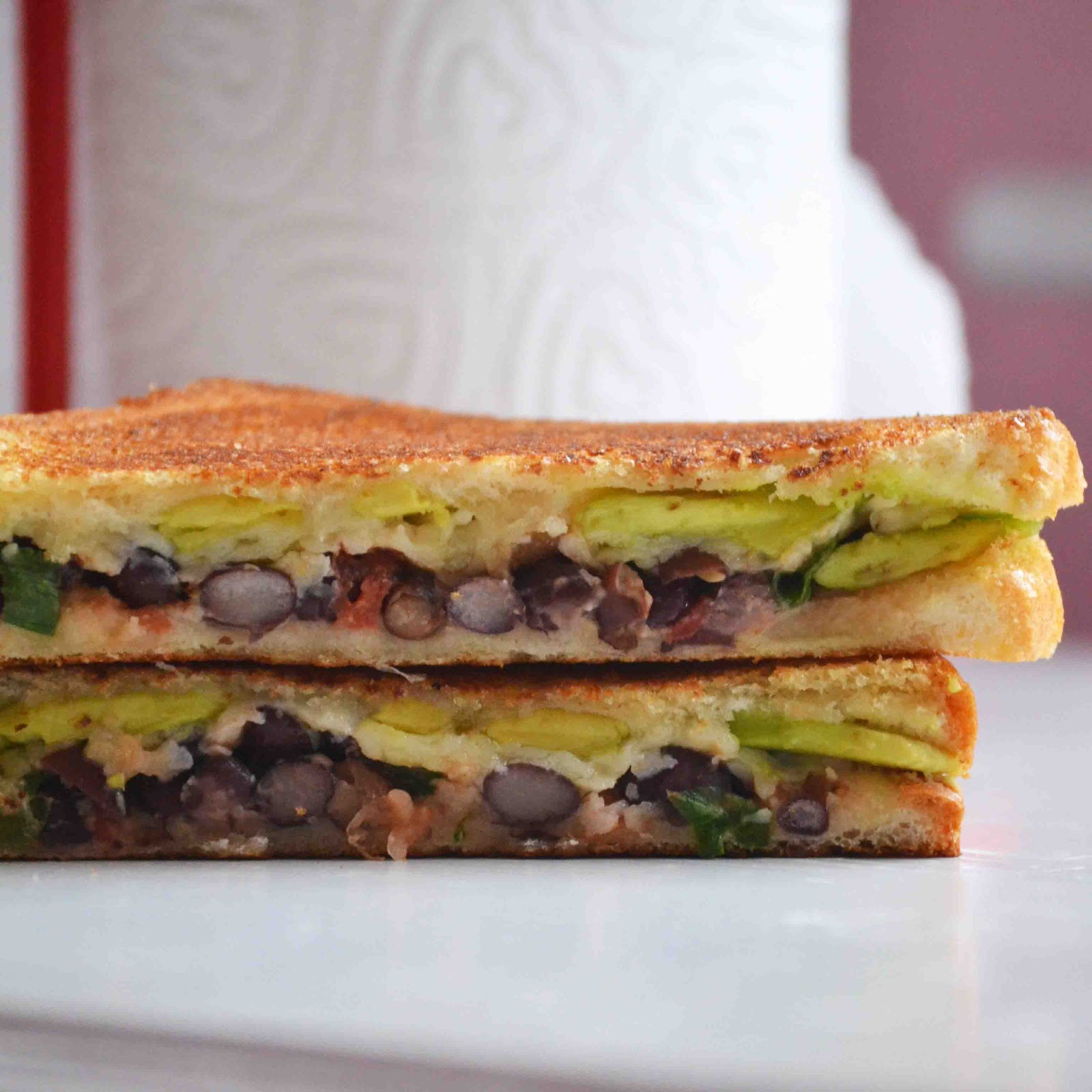 Mexican Grilled Cheese Sandwich - Baked New England