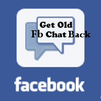 Get Back The Old Facebook Chat