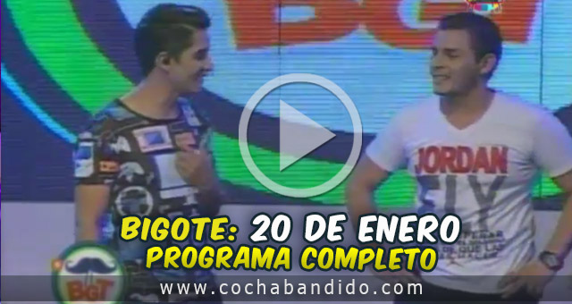 20enero-Bigote Bolivia-cochabandido-blog-video