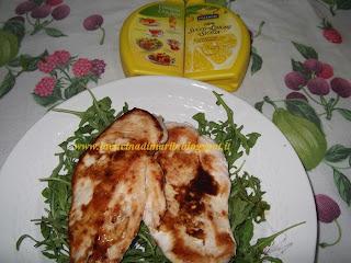 petto di pollo con riduzione al limone caramellato