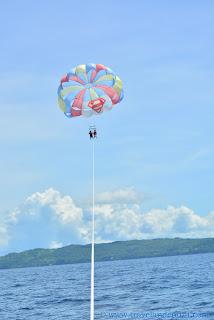 Parasailing at Boracay Island