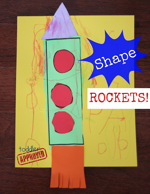 Shape Rockets from Toddler Approved