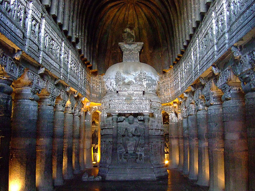 Essay on buddhist caves ajanta