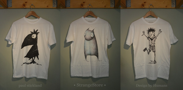 paul stickland, strangestore, design by humans,