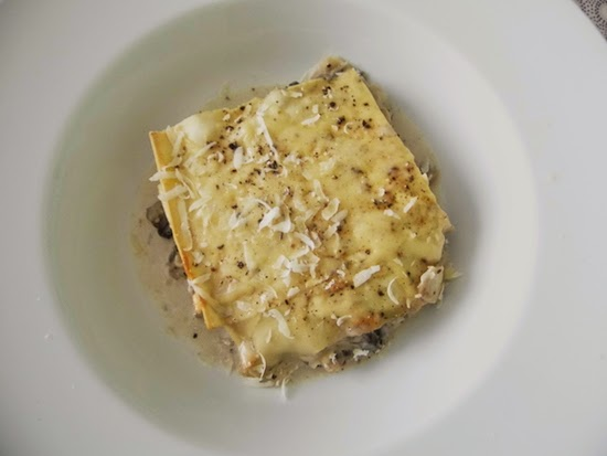 emily's recipes and reviews | uk food blog: homemade mushroom lasagne.