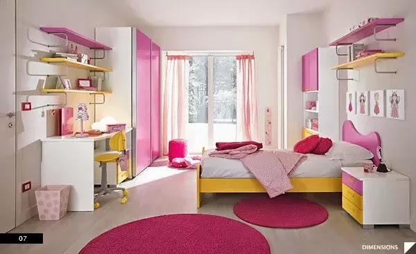 desain kamar tidur anak minimalis terbaru 2014 desain