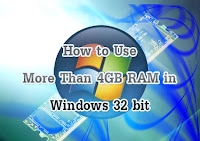 Batas Ram Windows 7 32 bit