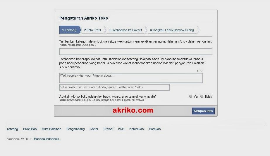 Cara Merubah Akun Facebook Pribadi Menjadi Halaman