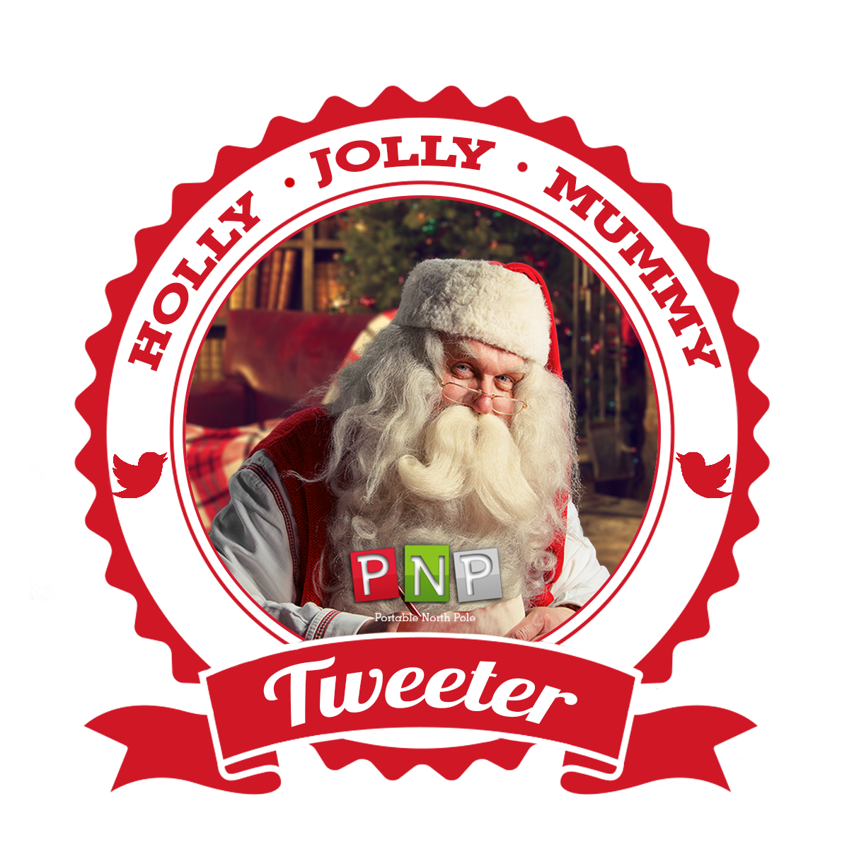 I'm A Holly Jolly Mummy PNP Tweeter