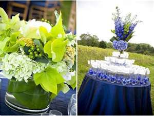Blue And Silver Wedding Ideas