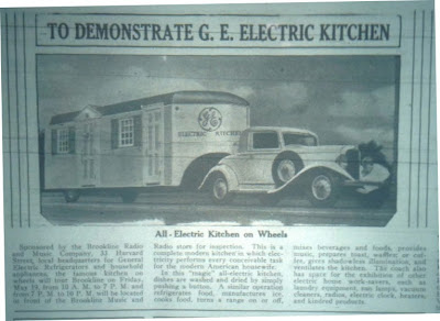 To Demonstrate G.E. Electric Kitchen