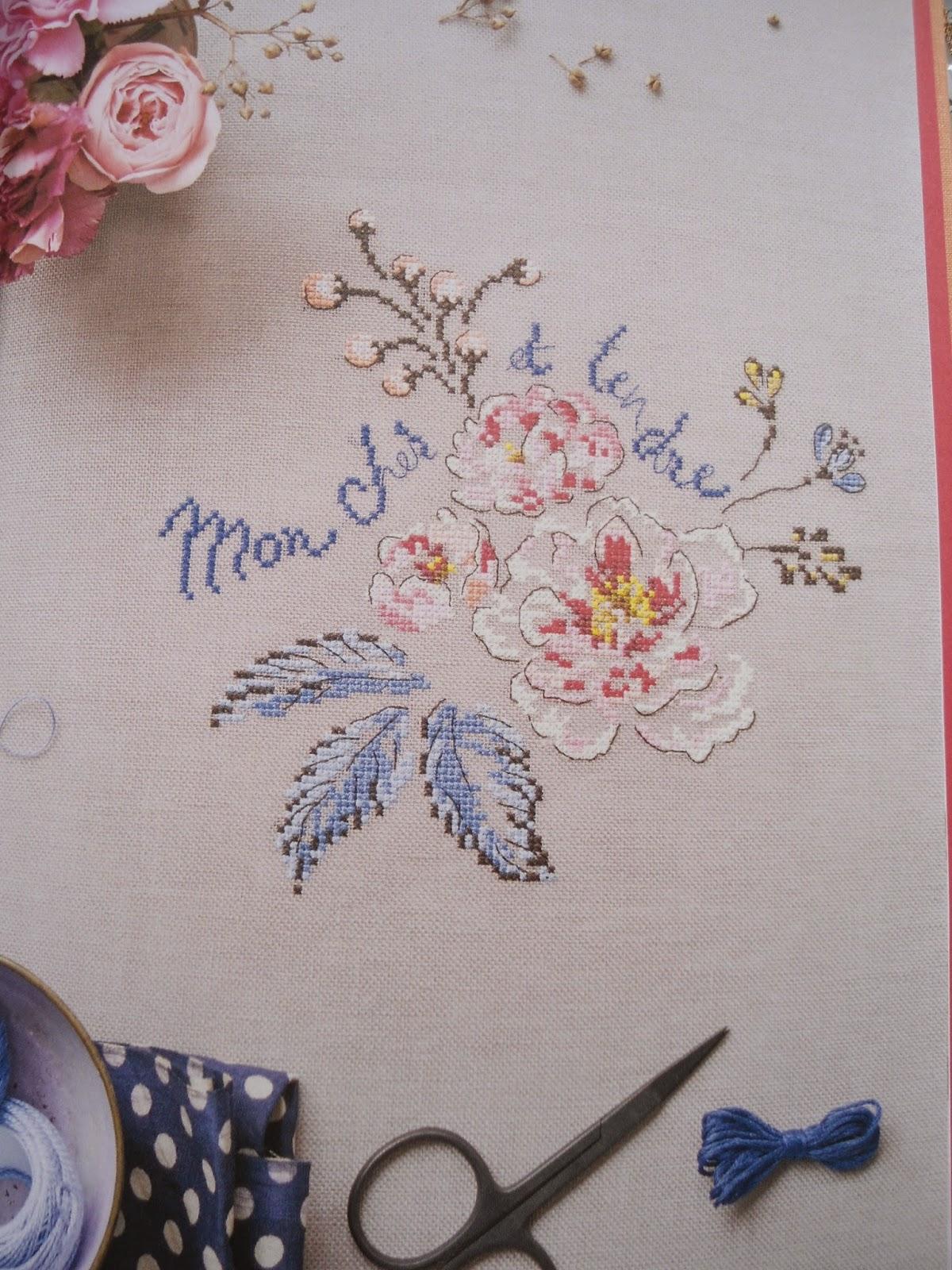 moje hand made le langage des fleurs helene le berre. Black Bedroom Furniture Sets. Home Design Ideas