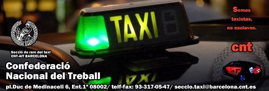 Secció del ram del taxi de barcelona