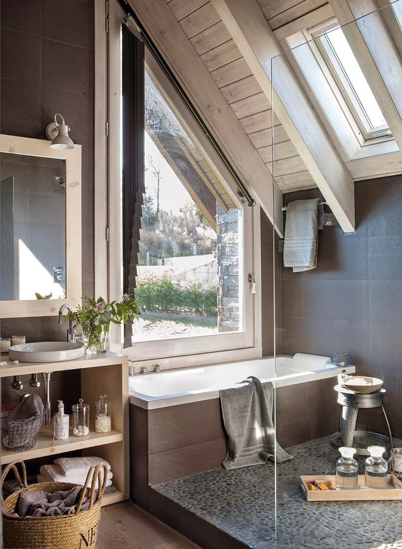 wystrój wnętrz, wnętrza, urządzanie mieszkania, dom, home decor, dekoracje, aranżacje, dom w górach, styl miejski,łazienka