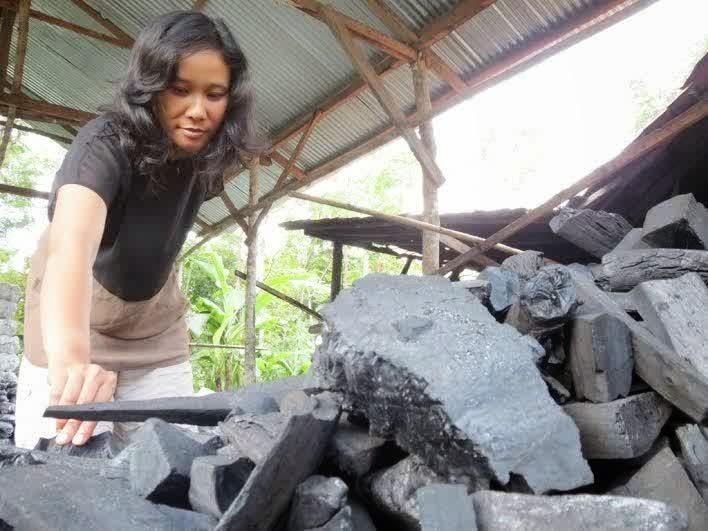 Kisah Sukses Wanita Penjual Arang Beromzet Rp 210 Juta/Bln