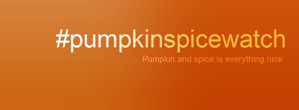 #pumpkinspicewatch