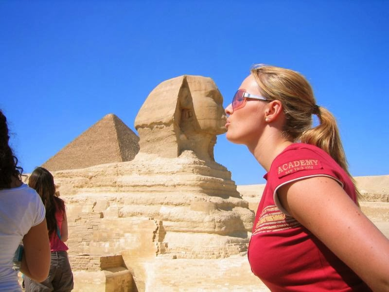 The Egyptian authorities, The ancient Greeks, Egyptologists, The Egyptian sphinx, the Sphinx in EGYPT,