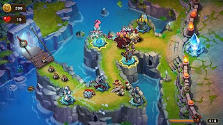 Screenshots of the Magic rush: Heroes for Android tablet, phone.