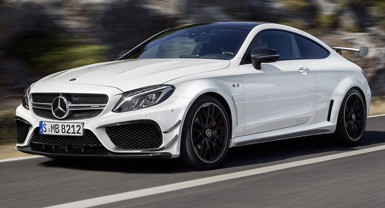 Reader envisions next mercedes amg c63 coupe black series for Mercedes benz c63 amg black edition