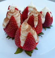 no bake cheesecake strawberries