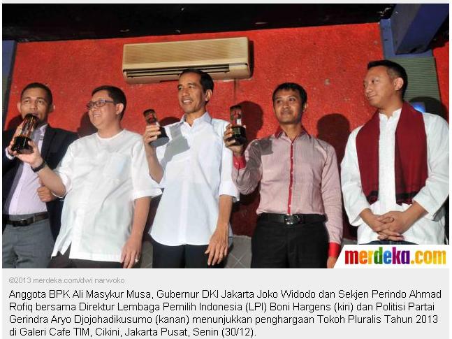 6 tokoh pluralis, tokoh senior dan junior yang tidak pluralis 2013