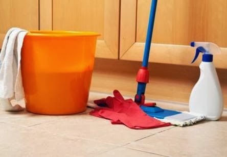 Un mundo en la cocina limpiar suelos de gres for Como limpiar el suelo de gres para que brille