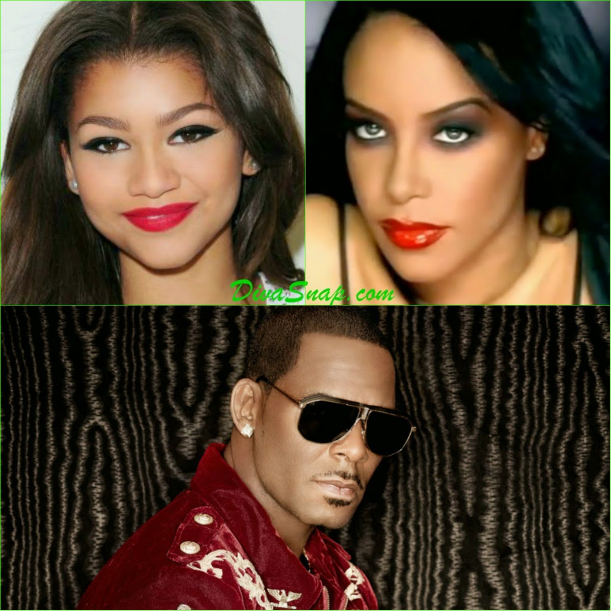 Divasnap Oh My Zendaya To Play Aaliyah In Biopic That Will