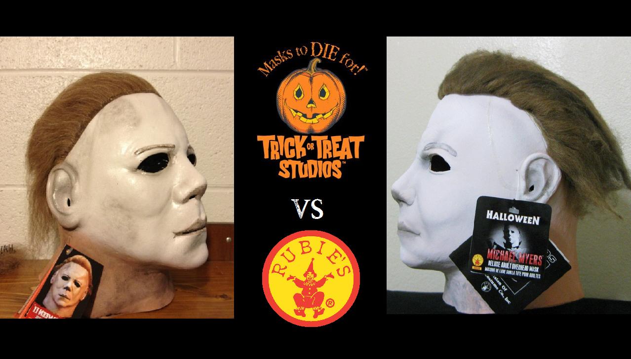 TOTS vs Rubie's Michael Mask - Michael-Myers.net
