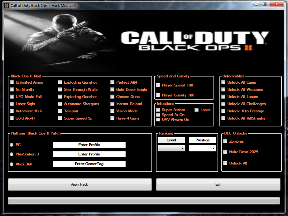 Call Of Duty 2 Hack