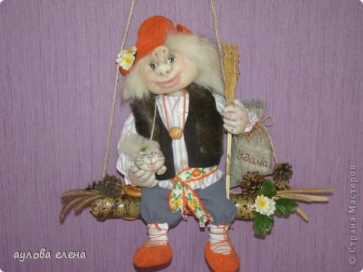 Куклы своими руками домовой из колготок