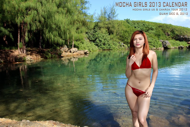 Mocha Girls Mae http://modelsorg.com/threads/302580-Mocha-Girls-2013-Calendar