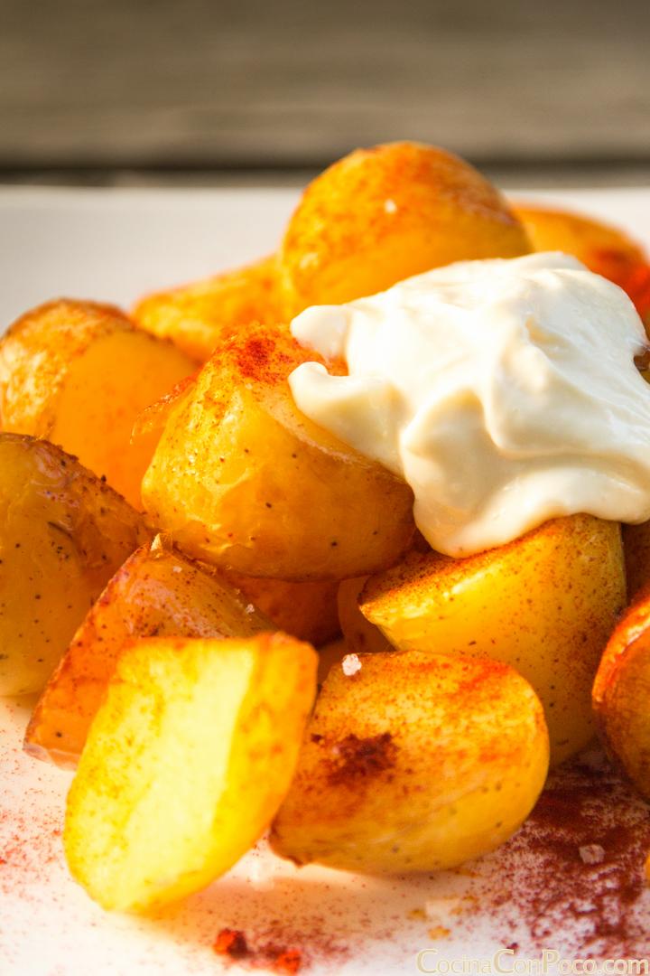 Receta de patatas bravas originales y autenticas - Tiempo de cocer patatas ...