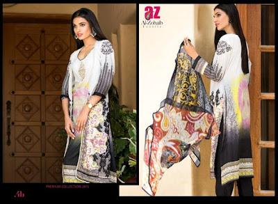 ZebAisha Premium Lawn SS 2015 Dresses