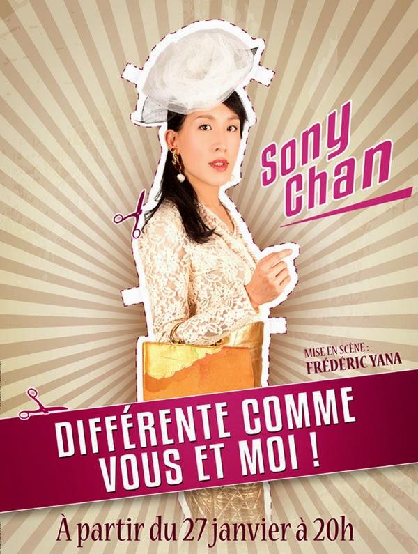Théatre, Sony Chan, Feux de la rampe, différente comme vous et moi, Hong Kong, CCVB, Cosmeto Factory