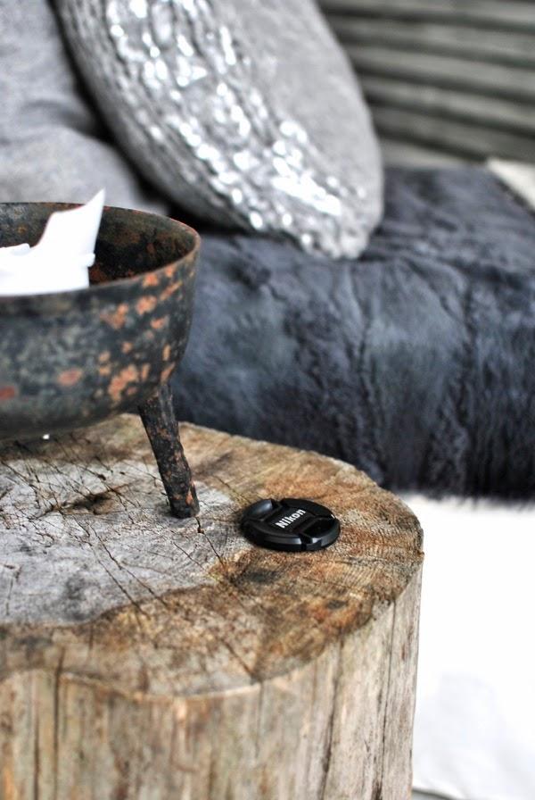 schäslong diy kudde trästubbe linsskydd
