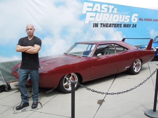 Vin Diesel 1969 Dodge Charger Daytona Fast Furious 6