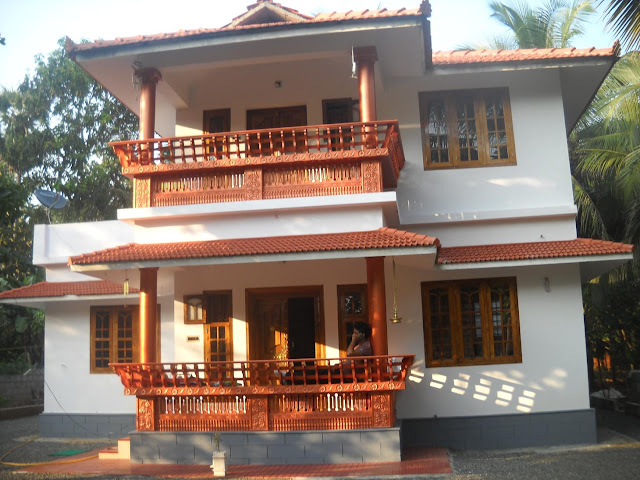 Our dream home our dream home at kerala god 39 s own country for Dream home kerala