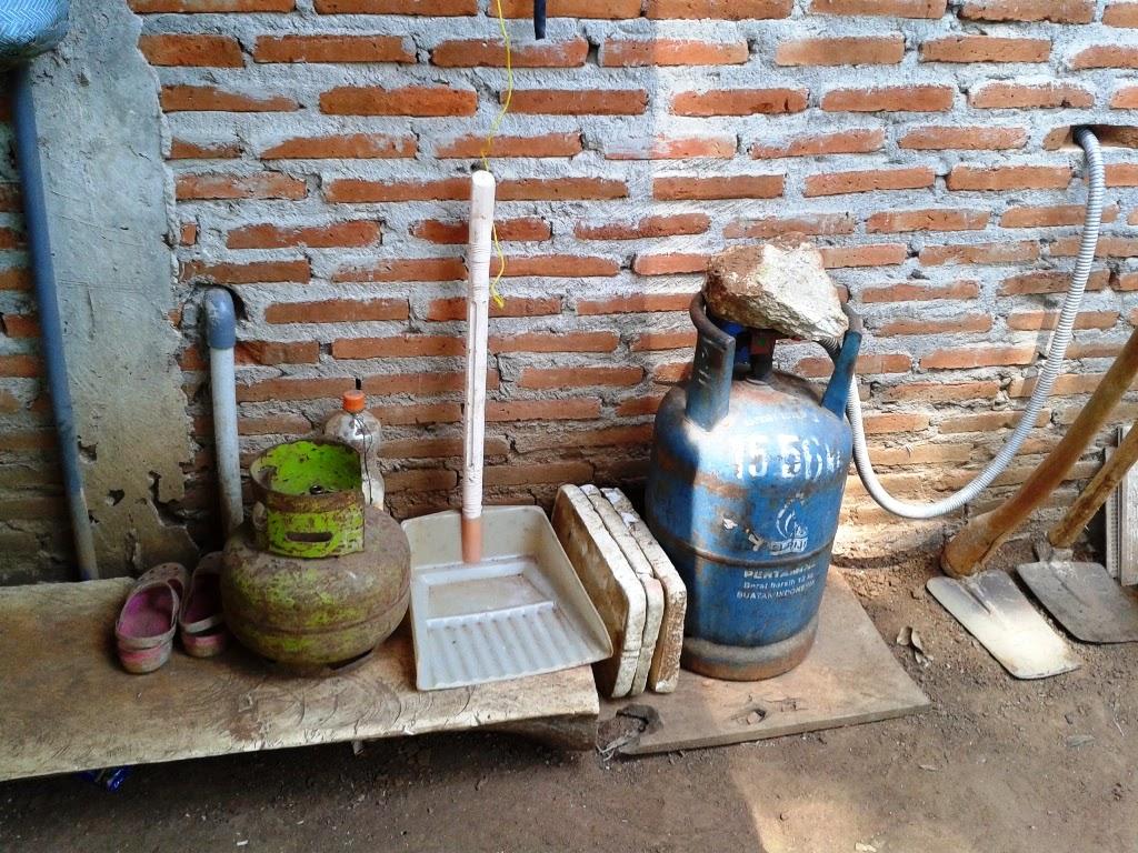 Kompor gas dan Elpiji didapur rumah
