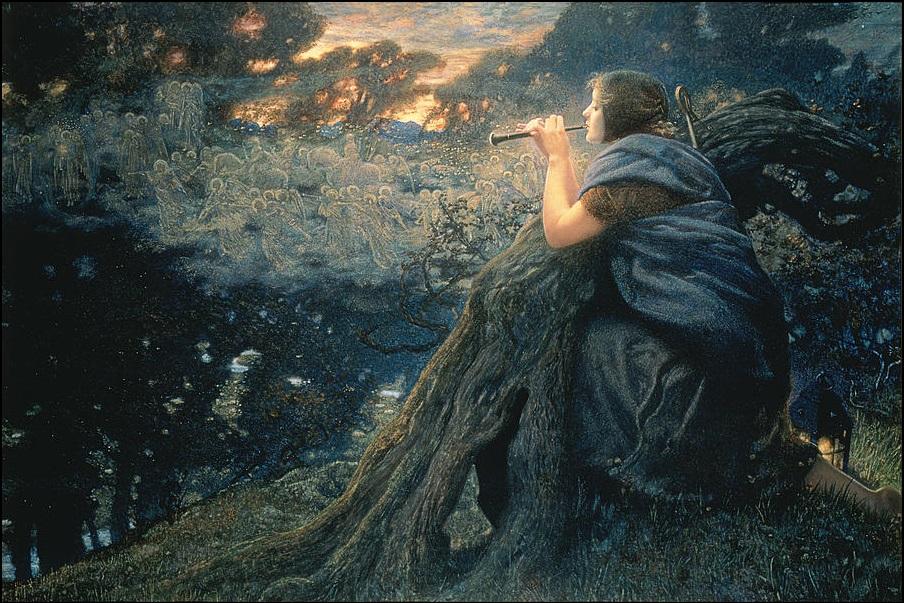 'Twilight Fantasy' by Edward Robert Hughes