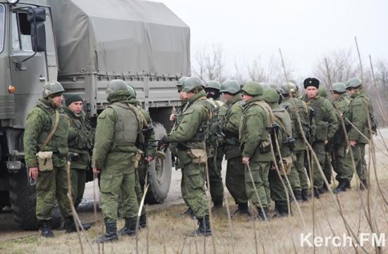 Російські окупанти в Україні