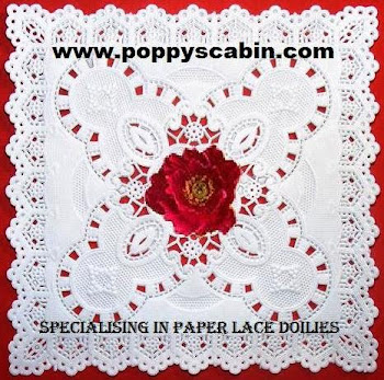 Poppyscabin website store for a huge range of paper lace Doilies