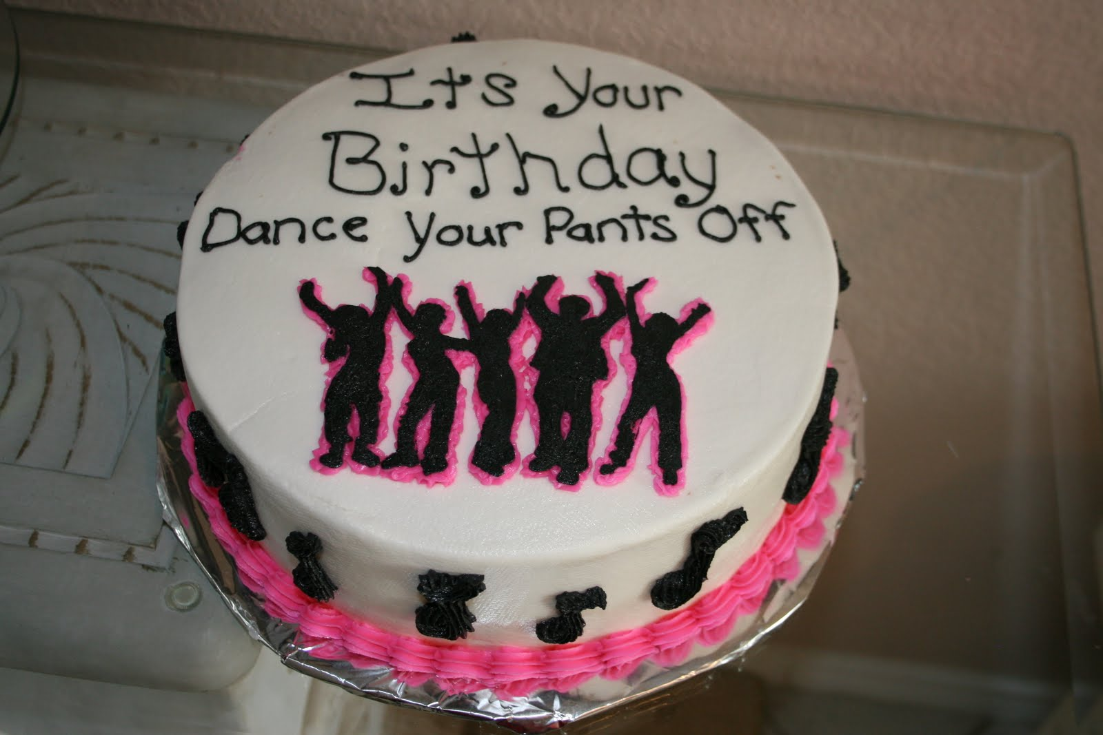 Dance Party Cake Images : Rachel s Creative Cakes: Dance Party Cake