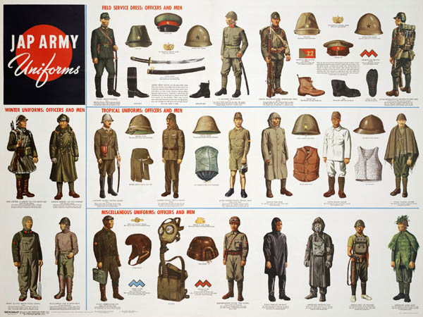 Japanese Army Uniform Poster